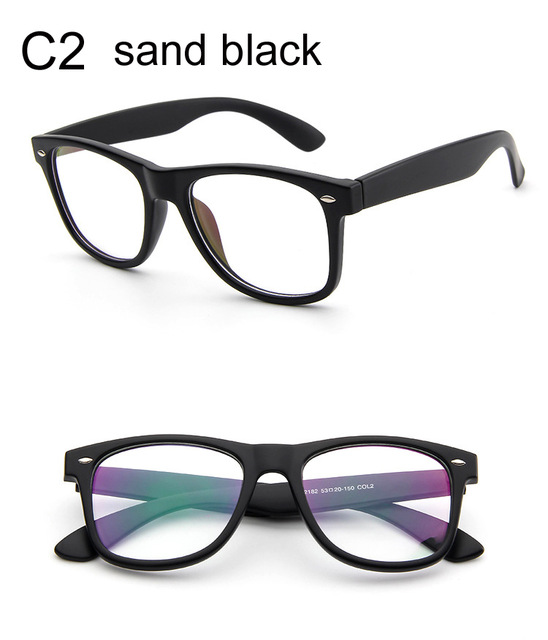 Fashion Clear Glasses Men Fake Glasses Square Eyeglasses Optical ...