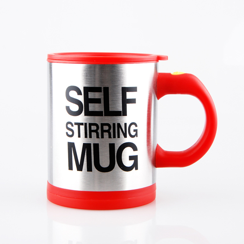 Automatic Drinking Thermos With Coffee Stirring Mixer Mug Travel Mixing Electric Self Cup Mugs pVGqULSzM