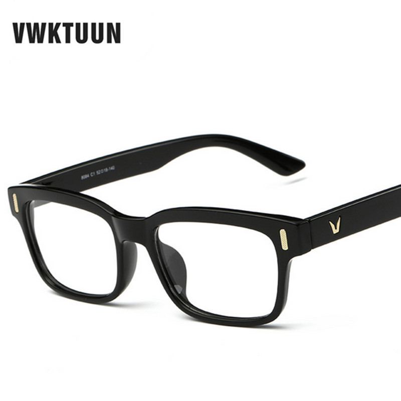 9748fbeac7e ... Women Optical Eye Glasses Myopia Frames Men V logo Plain Glass Colorful  Frame oculos Gafas de sol. Sale! 🔍. Show Gallery