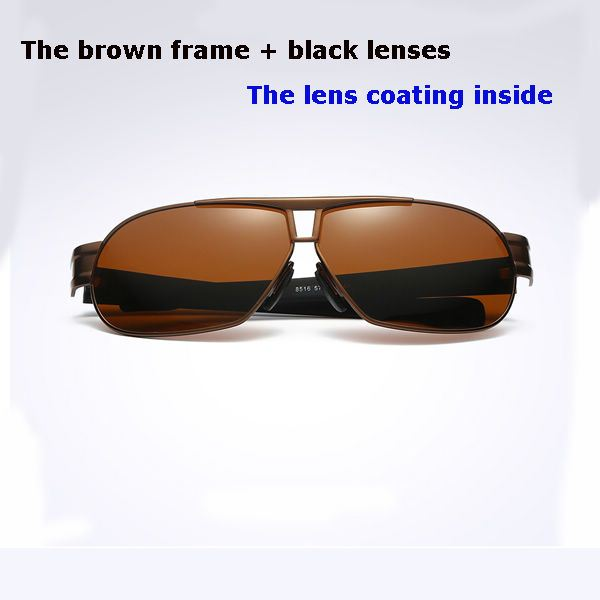bc5f615576 ... Ultra Lightweight Polarized Sunglasses 100% UV protection With Film  inside – Coffee. 🔍. Show Gallery